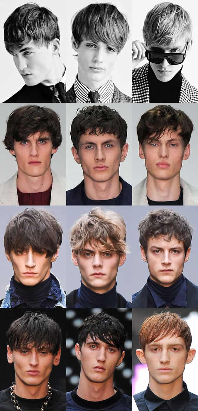 Key Hairstyle Trends From London Collections Men AW15