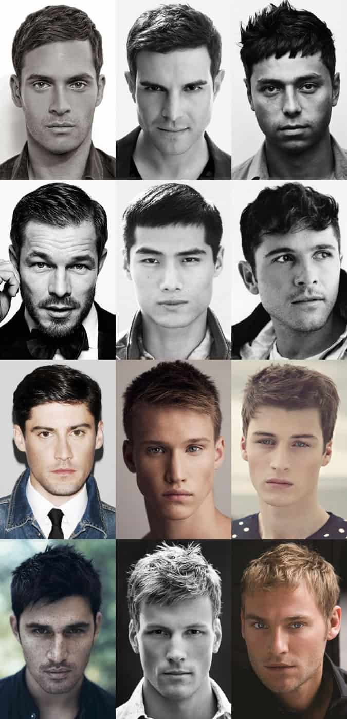 Classic Mens Hairstyle The French Crop FashionBeans