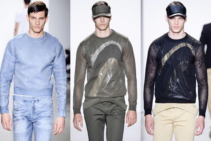 Calvin Klein Collection, vêtements de survêtement SS16 pour hommes