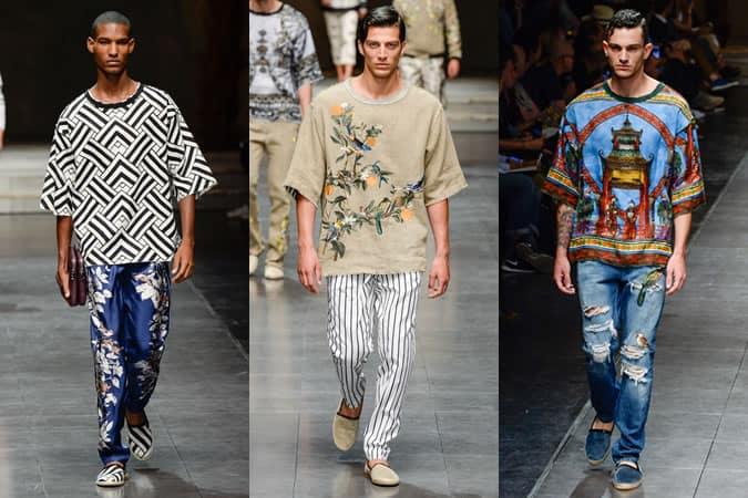 Dolce & Gabbana Menswear SS16 Runways