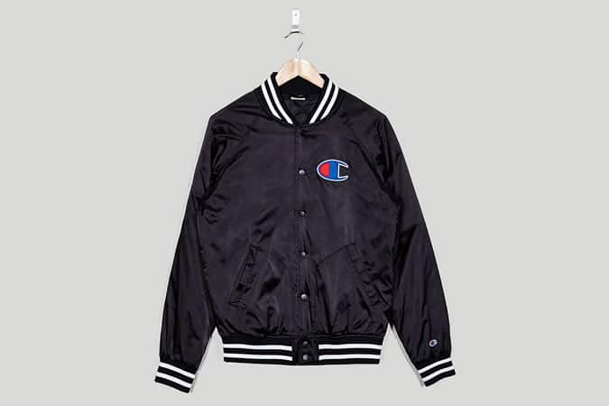 Champion Satin Varsity Jacket