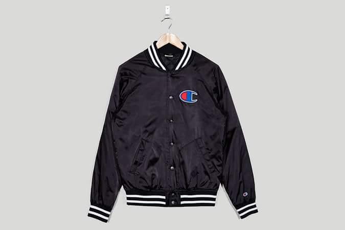 Champion Satin Varsity Jacket