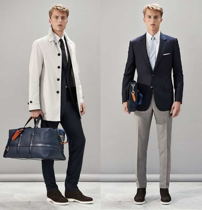 Men's Navy Suit and Blazer Separates Outfit Inspiration Lookbook