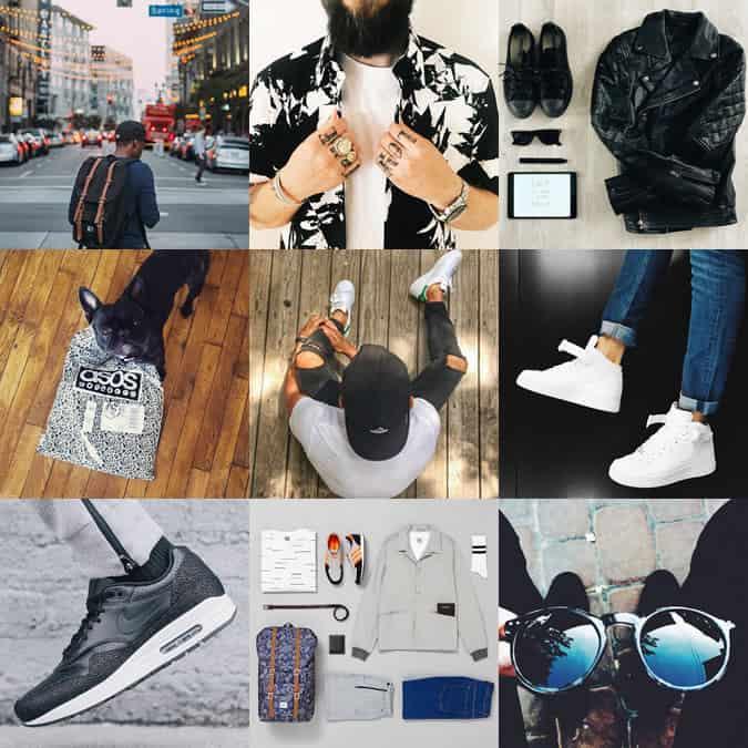 Compte Instagram AOSS Menswear