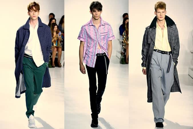 Richard Chai SS16 Menswear Runways - Semaine de la mode de New York