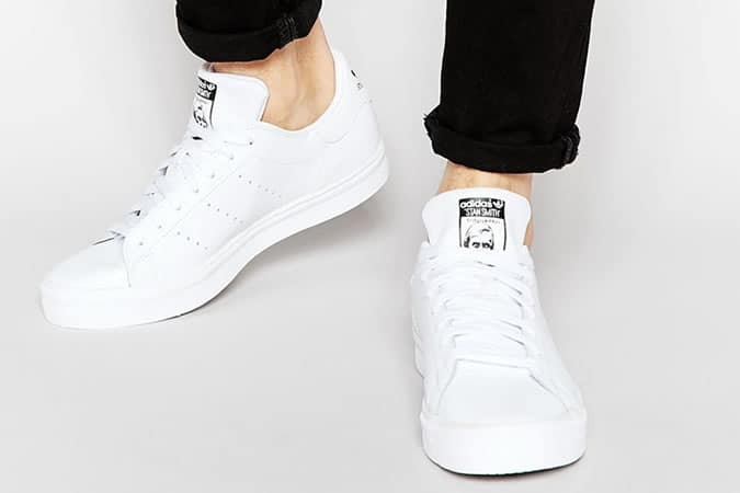 Adidas Stan Smith blanc formateurs