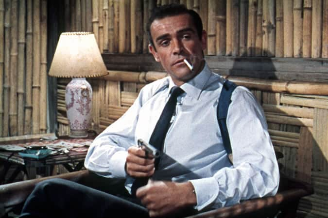 Sean Connery as James Bond In Dr. No -  Turnbull & Asser Shirt