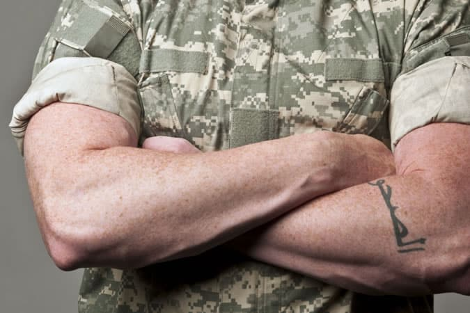 Roll your sleeves like a marine