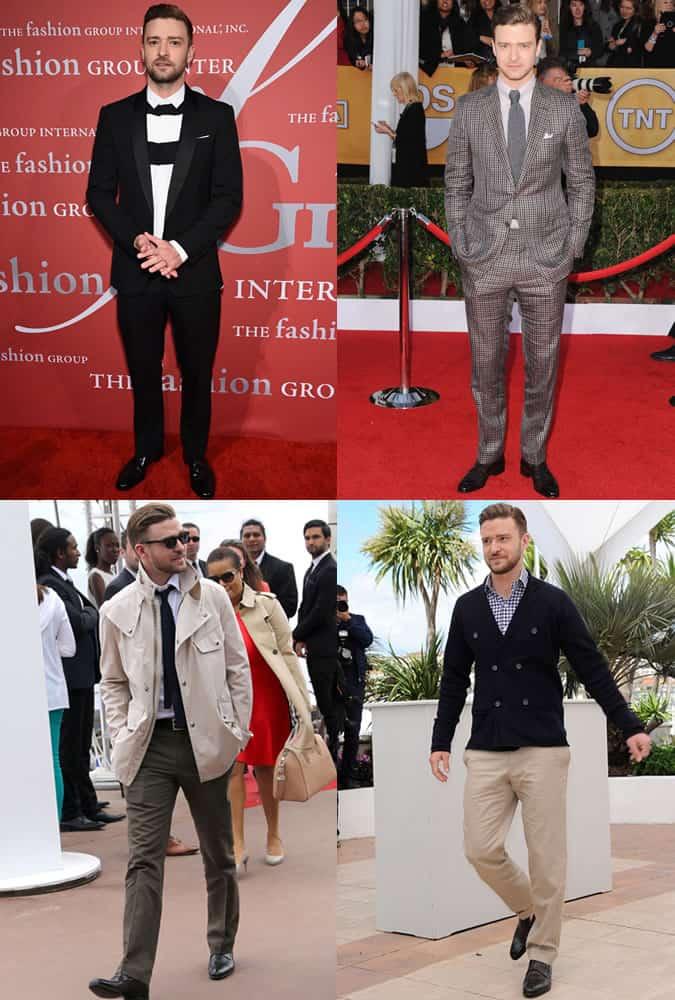 Justin Timeberlake - Style/Fashion Icon Outfits