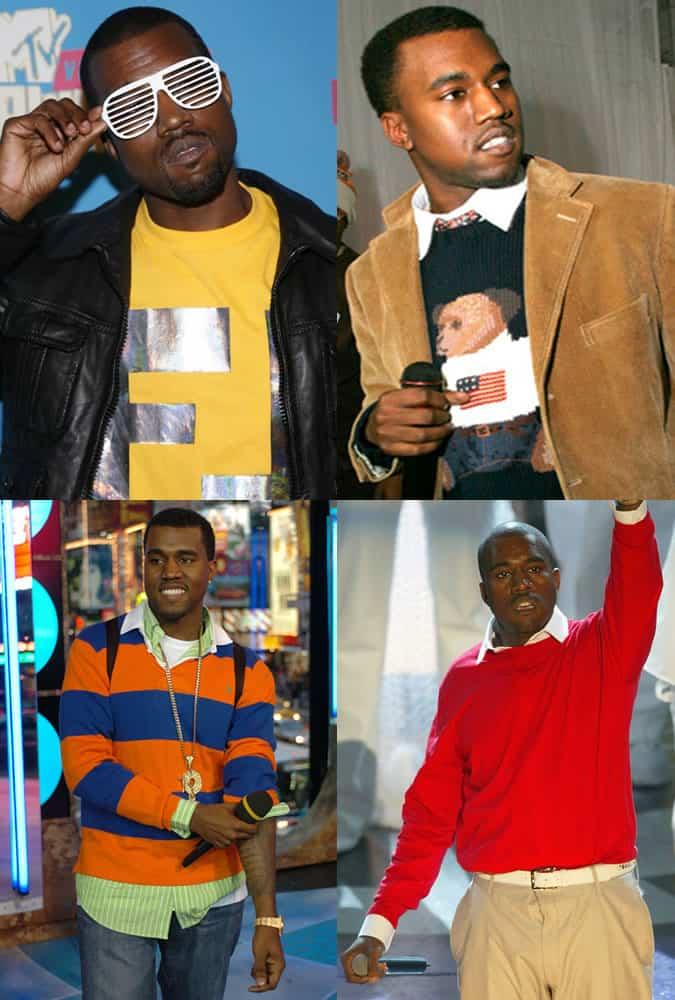 Kanye West - Style/Fashion Mistakes