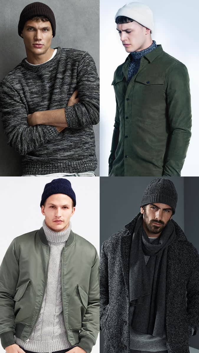 b336b457aba5b Men s Beanies Outfit Inspiration Lookbook - Autumn Winter 2016 Accessory  Trends