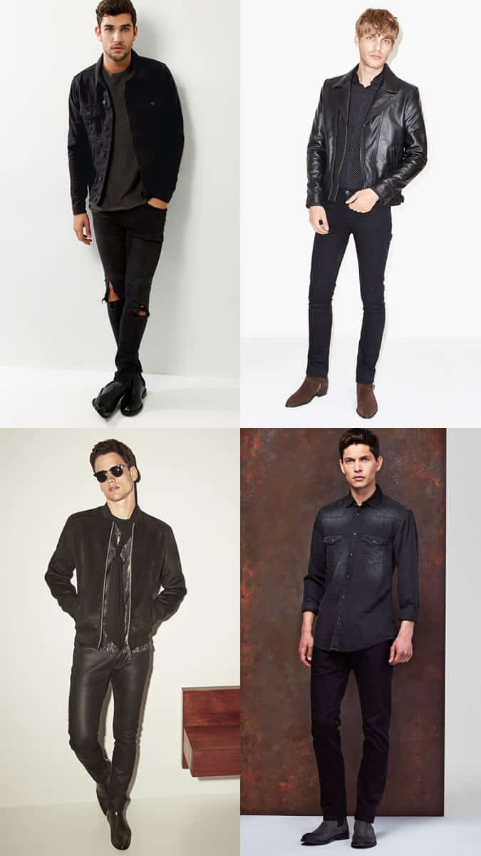 Men's New Year's Eve Clubbing Outfit Inspiration Lookbook