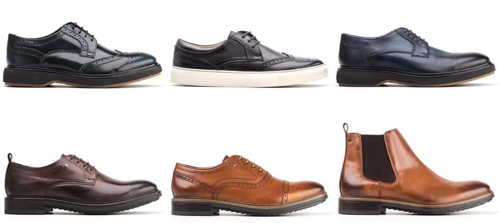 Base London Automne / Hiver Fashion Forward Chaussures pour hommes