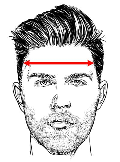 Step 2: Measure Your Forehead