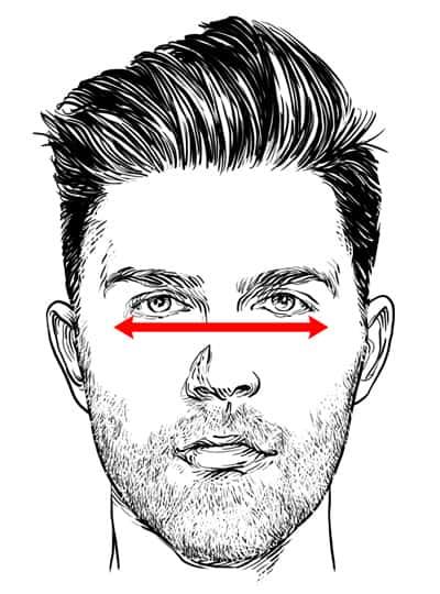 Step 3: Measure Your Cheekbones