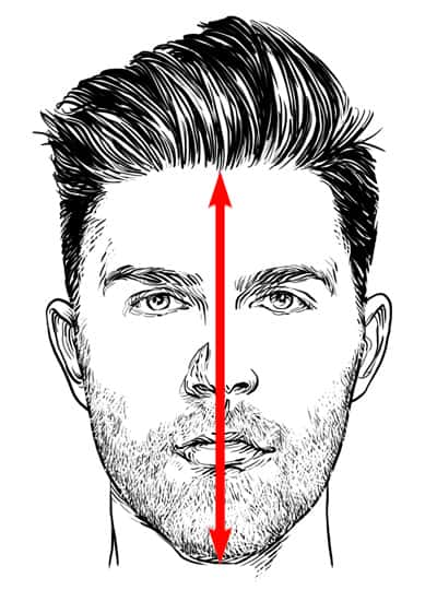 Step 5: Measure Your Face Length
