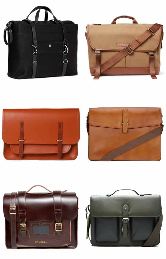 Men's Modern Satchels and Messenger Bags