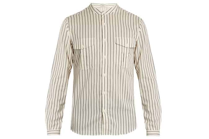 Editions Mandarin Collar Shirt