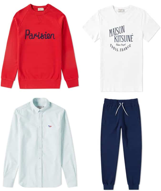 Maison Kitsuné Clothing