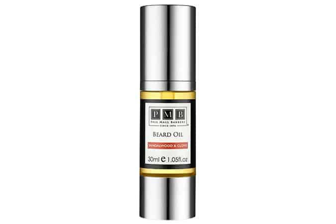 Pall Mall Barbers Sandalwood And Clove Beard Oil