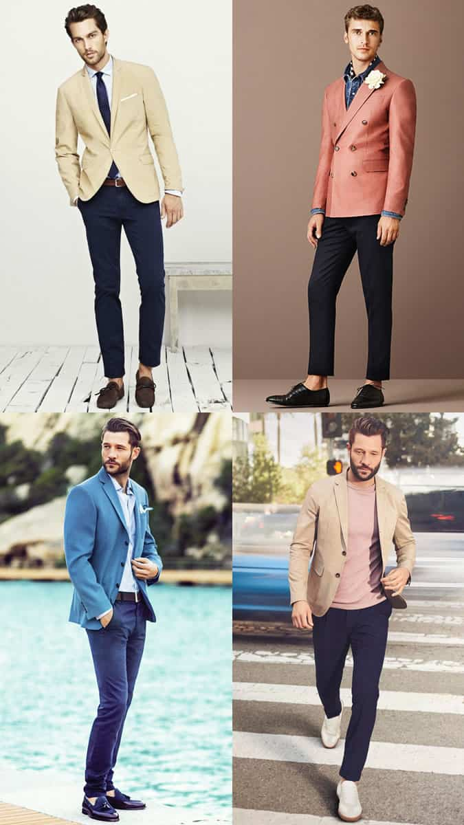 Lookbook Inspiration Outfit Blazers pour hommes