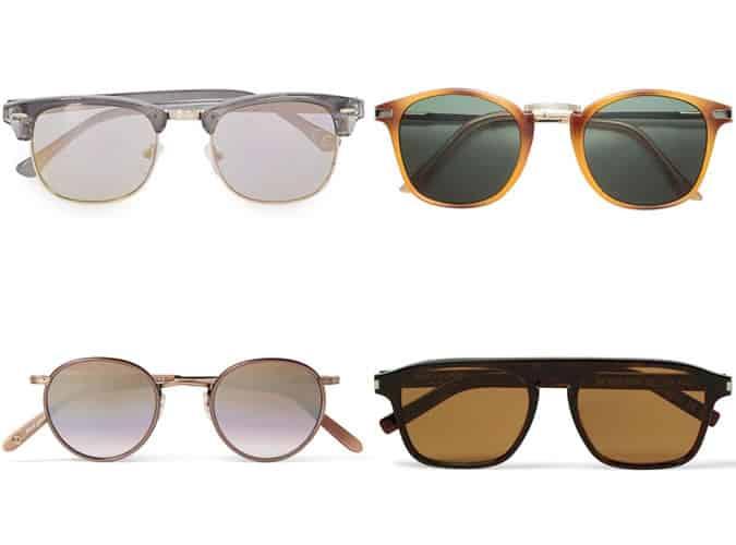 Men's Sunglasses For Heart Face Shapes