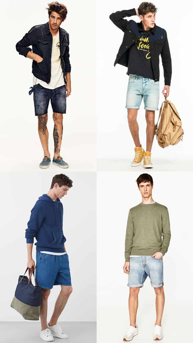 Les meilleures chaussures et baskets à porter avec un short en jean en été