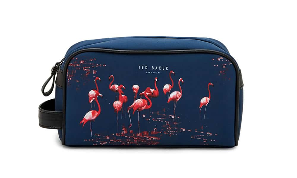 Trousse de toilette FLAMINO Flamingo Print