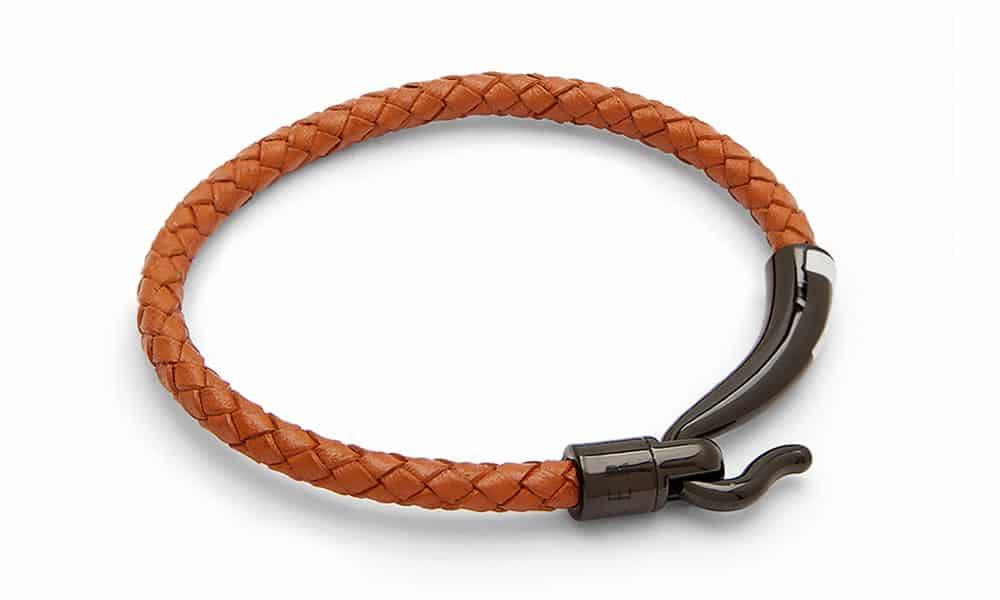 Bracelet à crochets en cuir BANAT