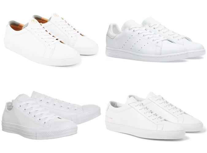 les meilleures baskets blanches pour hommes