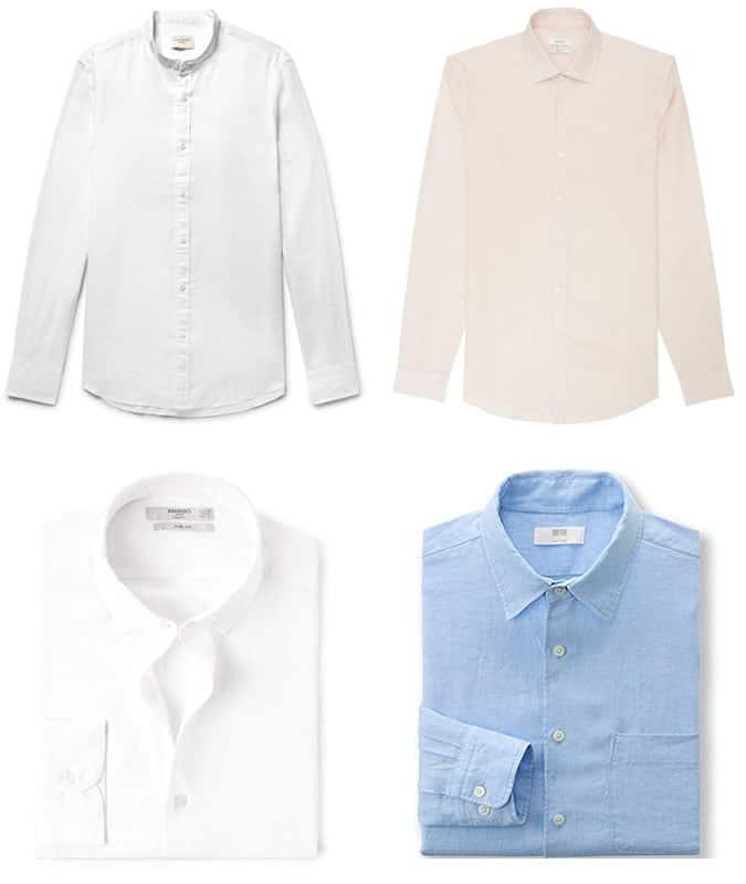 meilleures chemises en lin pour hommes