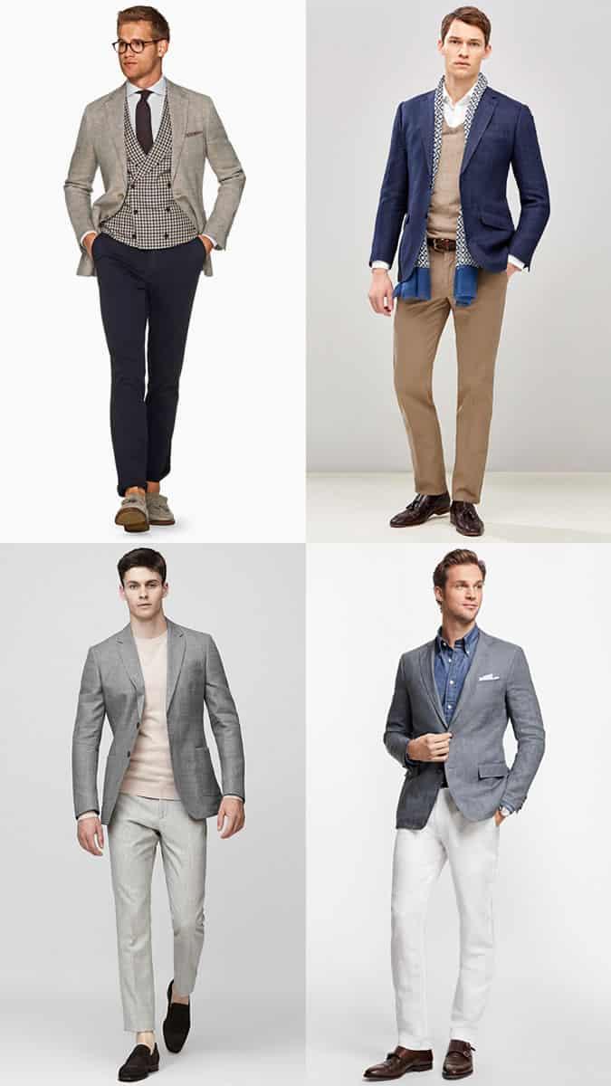 les meilleurs blazers en lin pour hommes