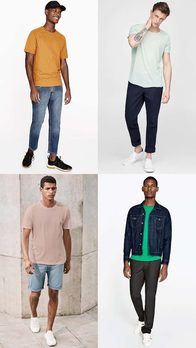 les meilleurs t-shirts colorés pour hommes