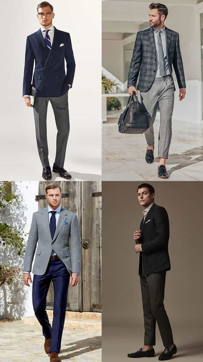 The best men's suit blazer and trouser combinations