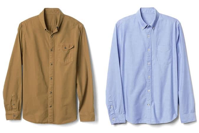 Chemises boutonnées Oxford pour hommes - Gap