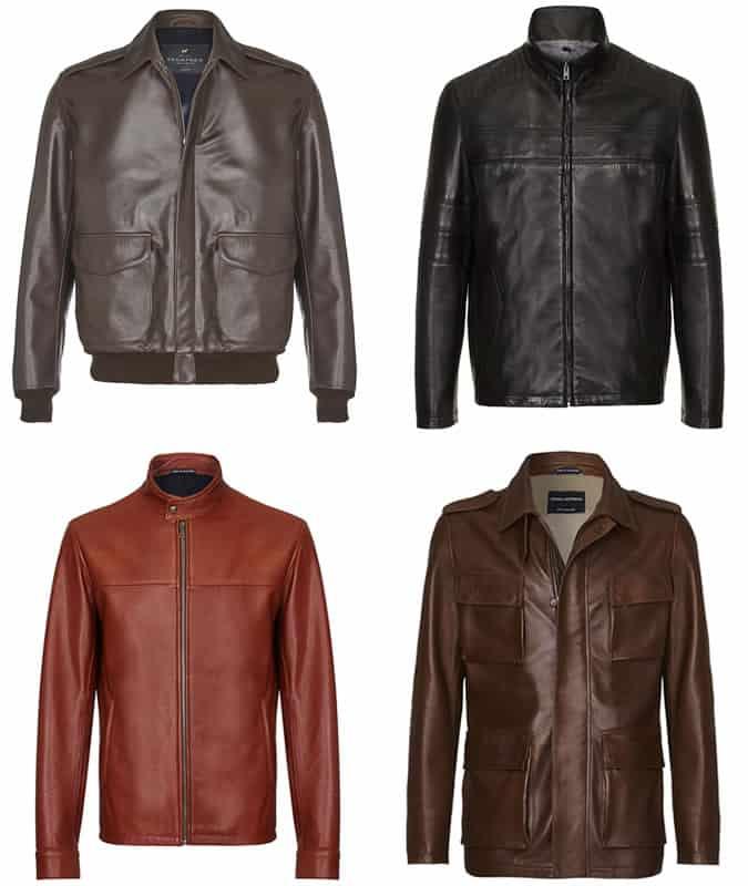 les meilleures vestes en cuir Cromford
