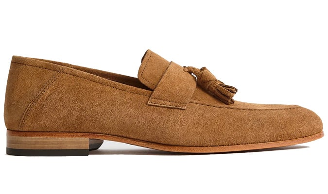 REISS SUEDE LOAFERS