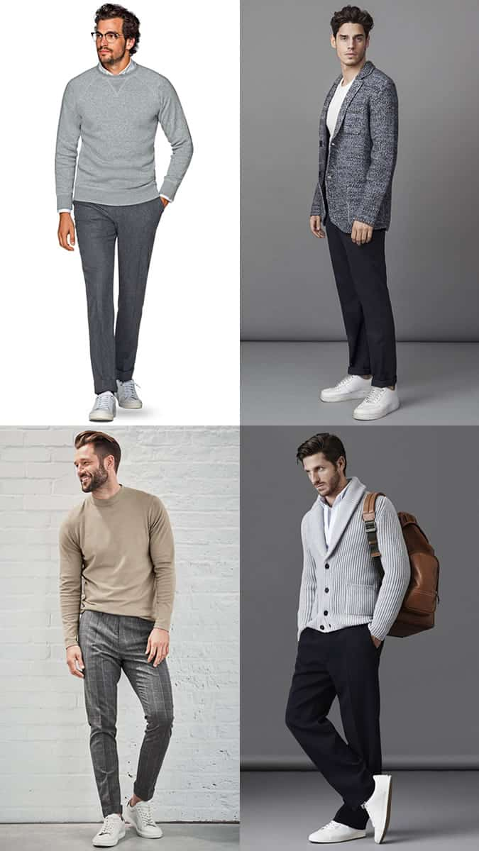 men's knitwear for smart-casual outfits