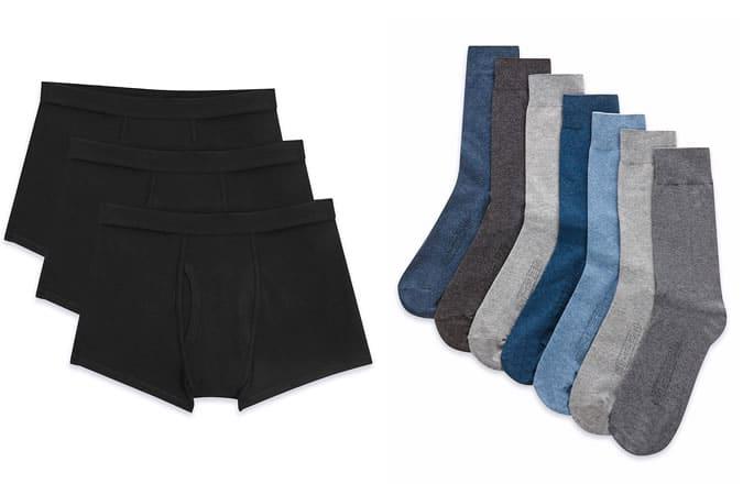 Chaussettes et sous-vêtements de base pour hommes - Marks & Spencer