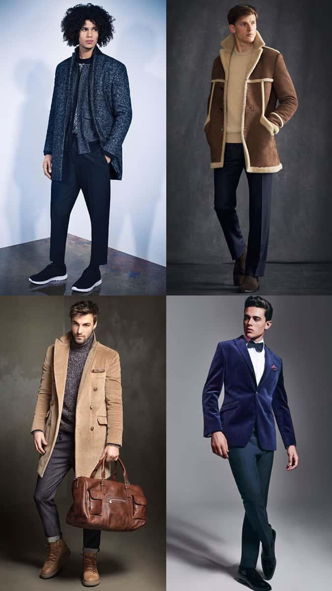 Comment porter du velours, du velours côtelé, de la laine à chevrons et du shearling