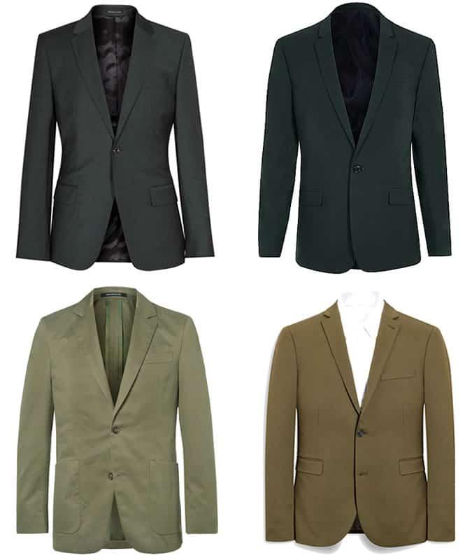 les meilleurs blazers verts et vestes de costume pour hommes