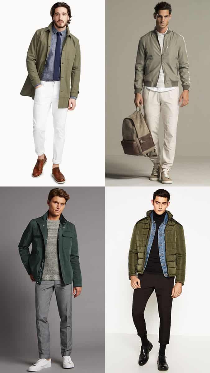 comment porter des manteaux verts