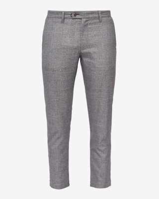 Pantalon court à carreaux
