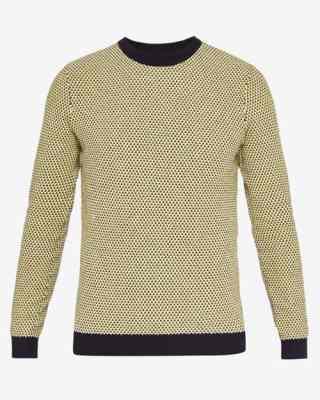 Pull en tricot à col rond