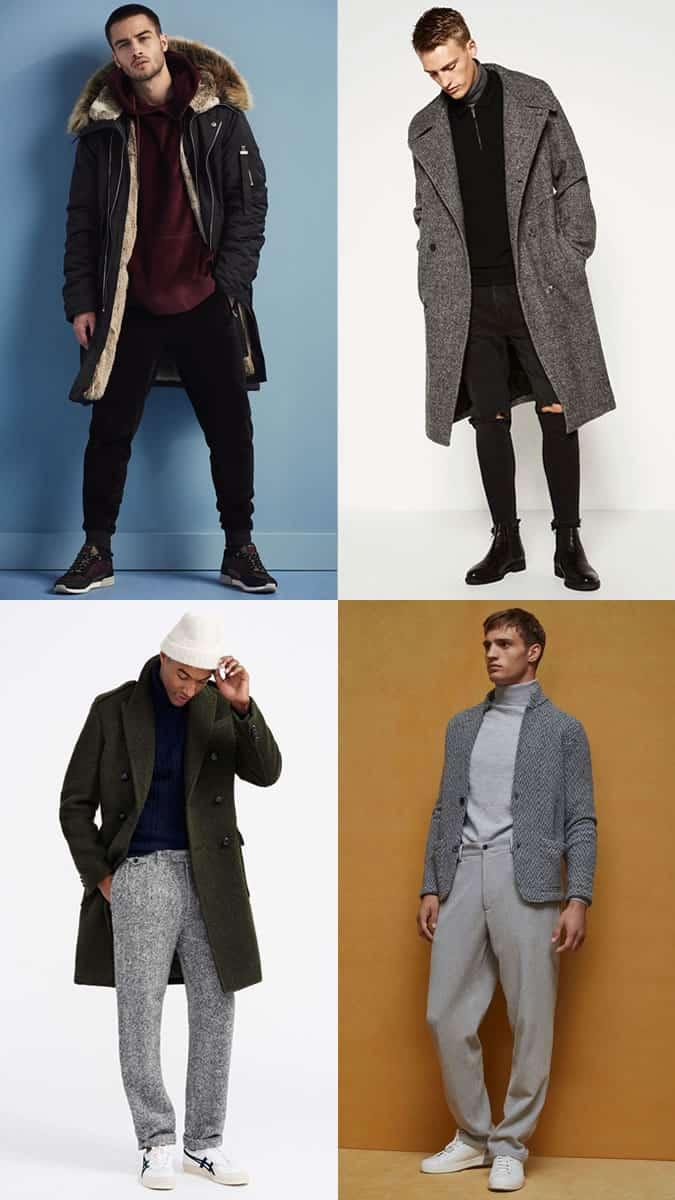 Comment porter la tendance des manteaux oversize et des pantalons larges
