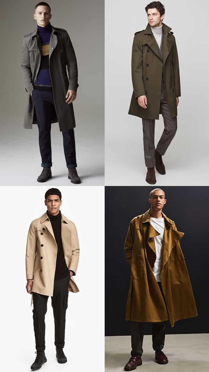 comment porter un trench-coat