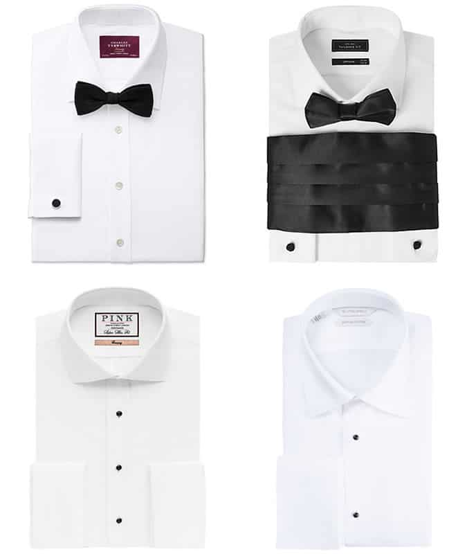The best men's black tie dress shirts