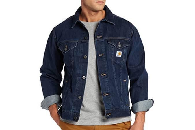 Carhartt Workwear Denim Jeans Jacket Unlined