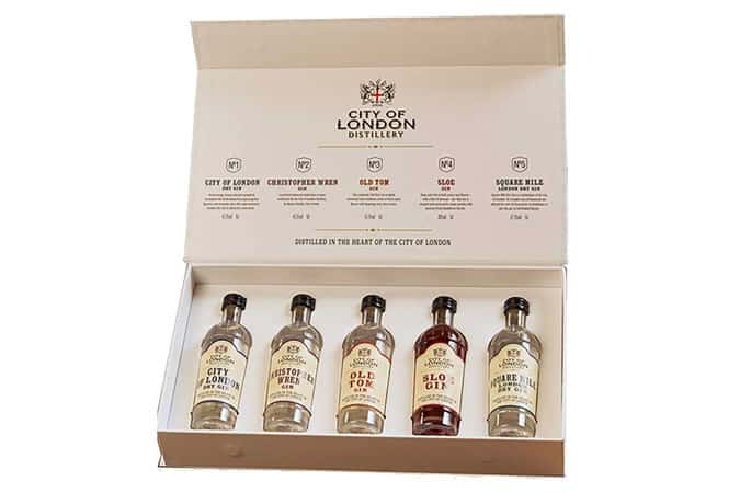 London City Distillery Gin Gift Set