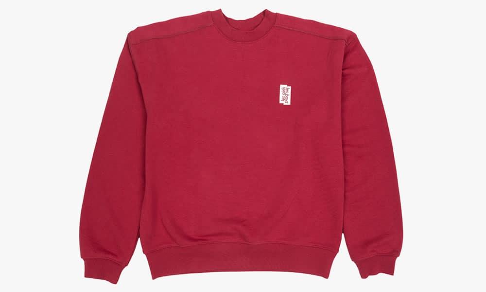 Les Girls Les Boys lglb sweat mini logo rouge